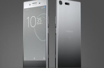 Xperia XZ Premium Silver Dualview