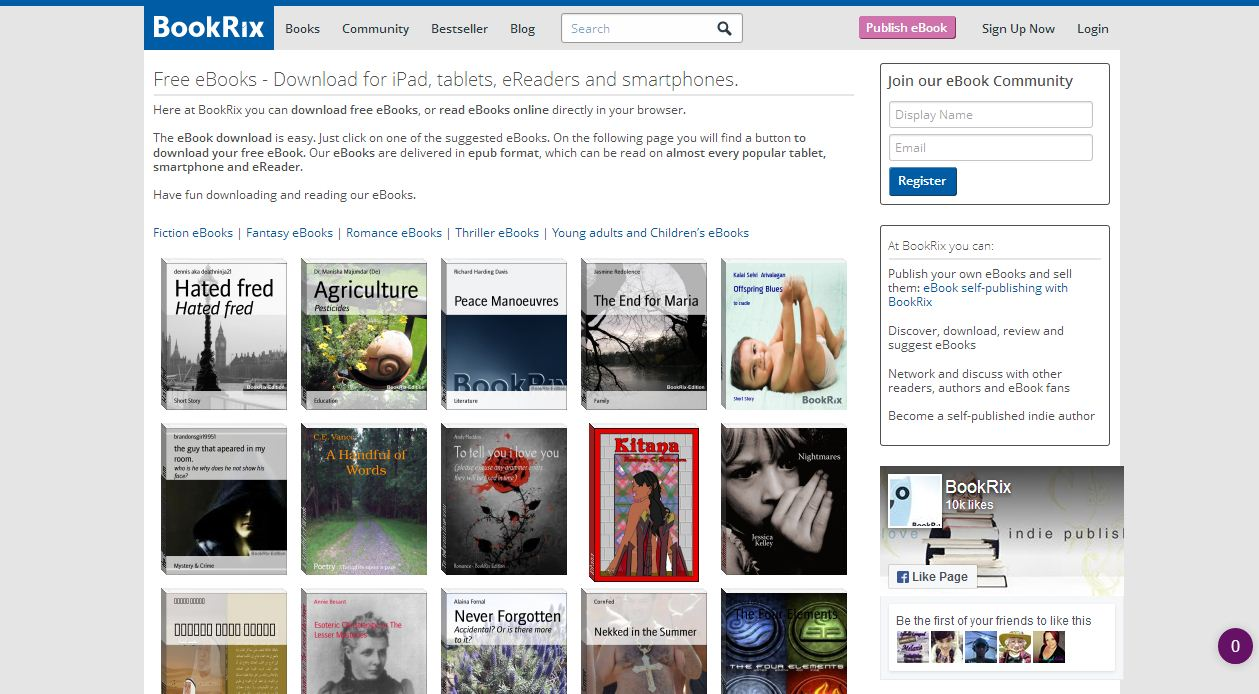 bookrix free ebooks