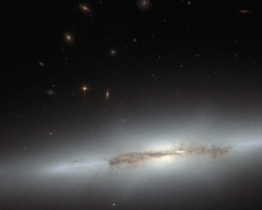 NGC 4710 Galaxy